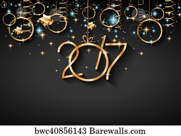 new year flyer art print poster 2017 happy new year background for your seasonal flyers