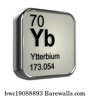61 periodic table of the elements ytterbium posters and art prints periodic table of the elements ytterbium art print poster 3d ytterbium element urtaz Choice Image
