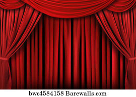 Spotlight Stage Theater Theatre Art Print Poster