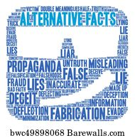 Truth about alternative facts and pathological liars