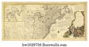 27,812 North america map Posters and Art Prints | Barewalls