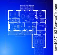 6519 cad posters and art prints barewalls cad art print poster architectural blueprint background vector malvernweather Choice Image