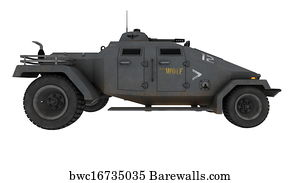 Light Armored Vehicles Art Print Poster   Armored Fighting Vehicle