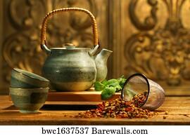 Indian Tea Art Print Poster