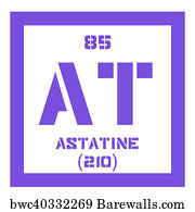 3431 radioactive elements posters and art prints barewalls radioactive elements art print poster astatine chemical element urtaz Images