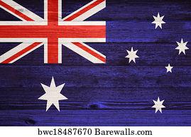 photograph about Australian Flag Printable known as 16,104 Australia flag Posters and Artwork Prints Barewalls