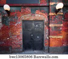 Superieur Backdoor Entry Art Print Poster   Backdoor
