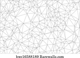 art print of polygon abstract background banners barewalls posters Banner Designs Clip Art art print poster background black and white polygon