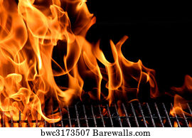 25 474 flame grill posters and art prints barewalls