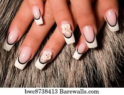 18109 nail art posters and art prints barewalls nail art art print poster beautiful nails with art prinsesfo Image collections