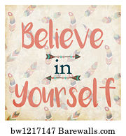 22660 do it yourself posters and art prints barewalls do it yourself art print poster believe in yourself solutioingenieria Gallery
