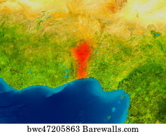 863 Map of benin Posters and Art Prints Barewalls