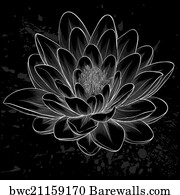 2872 Lotus Flower Tattoo Posters And Art Prints Barewalls