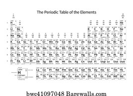 26 electronegativity posters and art prints barewalls electronegativity art print poster black and white monochrome periodic table of the elements urtaz Gallery