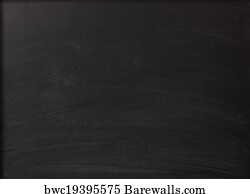 art print of blank chalkboard background barewalls posters
