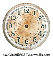 179 Blank clock face and hands Posters and Art Prints
