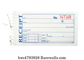 20 041 receipt posters and art prints barewalls