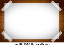 Blank Paper Background  Blank Paper Background