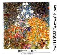 Bilder Blumengarten print of blumengarten by gustav klimt barewalls posters
