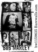 Bob Marley Art Print Poster