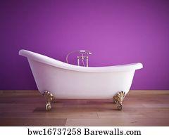 Badezimmer Art Print Poster   Bathroom