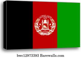 5 267 Afghanistan Flag Canvas Prints And Canvas Art Barewalls
