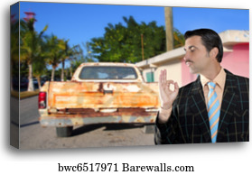 295 Used Car Salesman Canvas Prints And Canvas Art Barewalls