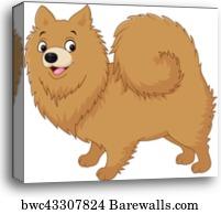 Husky Mascot Vector Graphic, Canvas Print | Barewalls