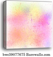 Colorful Pastel Spray Paint On White Background Canvas Print Barewalls Posters Prints Bwc42871131