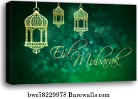 1565 bakra eid canvas prints and bakra eid canvas art barewalls bakra eid canvas print eid mubarak greeting for islamic holidays eid al fitr m4hsunfo