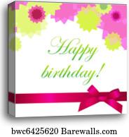 print happy birthday card