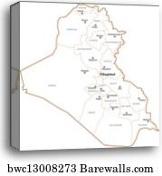 Iraq, Canvas Print | Barewalls Posters & Prints | bwc13008122