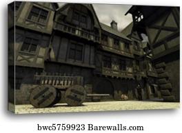 Fantasy Art Town Guard