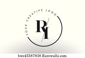 Ds Serif Letter Logo Design With Creative Intersected Cut