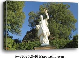 CERES ROMAN GODDESS OF GRAIN CEREAL SUMMER HARVEST PAINTING ART CANVAS PRINT