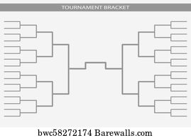 Tournament Bracket, Canvas Print | Barewalls Posters & Prints