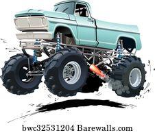 1 151 Monster Trucks Posters And Art Prints Barewalls