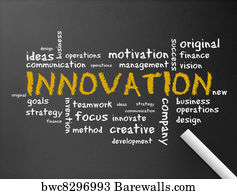 Art Print of Innovation Barewalls Posters amp Prints