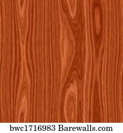 Cherry Wood Flooring Board Seamless Texture Art Print Poster