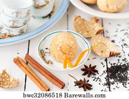 Chinese Tea Eggs Art Print Poster