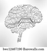 9,995 Circuit board vector Posters and Art Prints | Barewalls