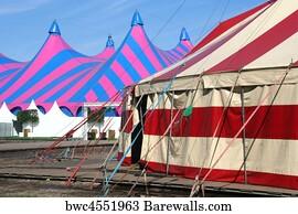 Circus Tent Art Print Poster - Circus Tents & 6029 Circus tent Posters and Art Prints | Barewalls