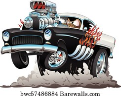 RED HOT ROD CAR POSTER CLASSIC USA HUGE LARGE WALL ART POSTER