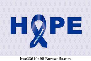 243 Colon Cancer Ribbon Posters And Art Prints Barewalls
