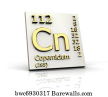 6 uub posters and art prints barewalls uub art print poster copernicium periodic table of elements urtaz Image collections