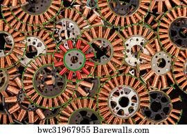 1,581 Copper coils Posters and Art Prints   Barewalls