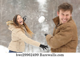 snowball with girlfriend