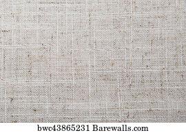Natural Vintage Linen Burlap Texture Background Tan Beige Art Print Poster