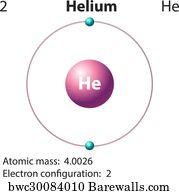 Art print of diagram representation of the element helium diagram representation of the element helium ccuart Gallery