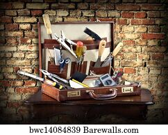 12434 full service posters and art prints barewalls full service art print poster do it yourself case full of tools solutioingenieria Choice Image